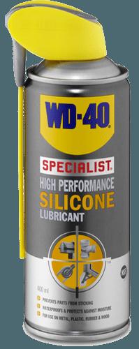 חומרי סיכוך מבוססי סיליקון של WD40