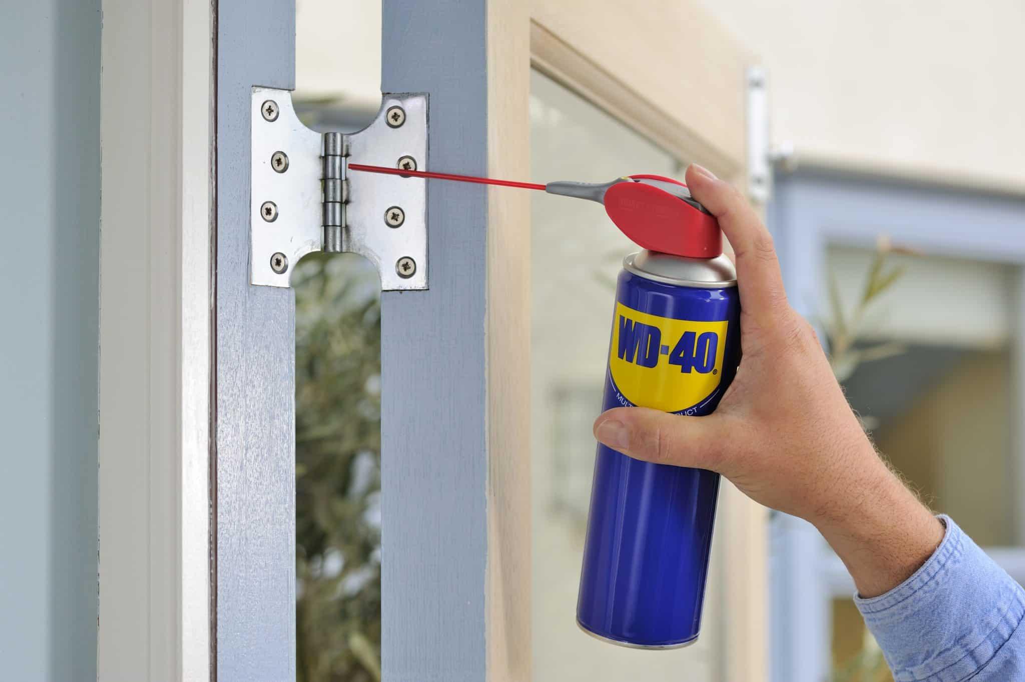 כיצד לנקות את הבית מאת WD40