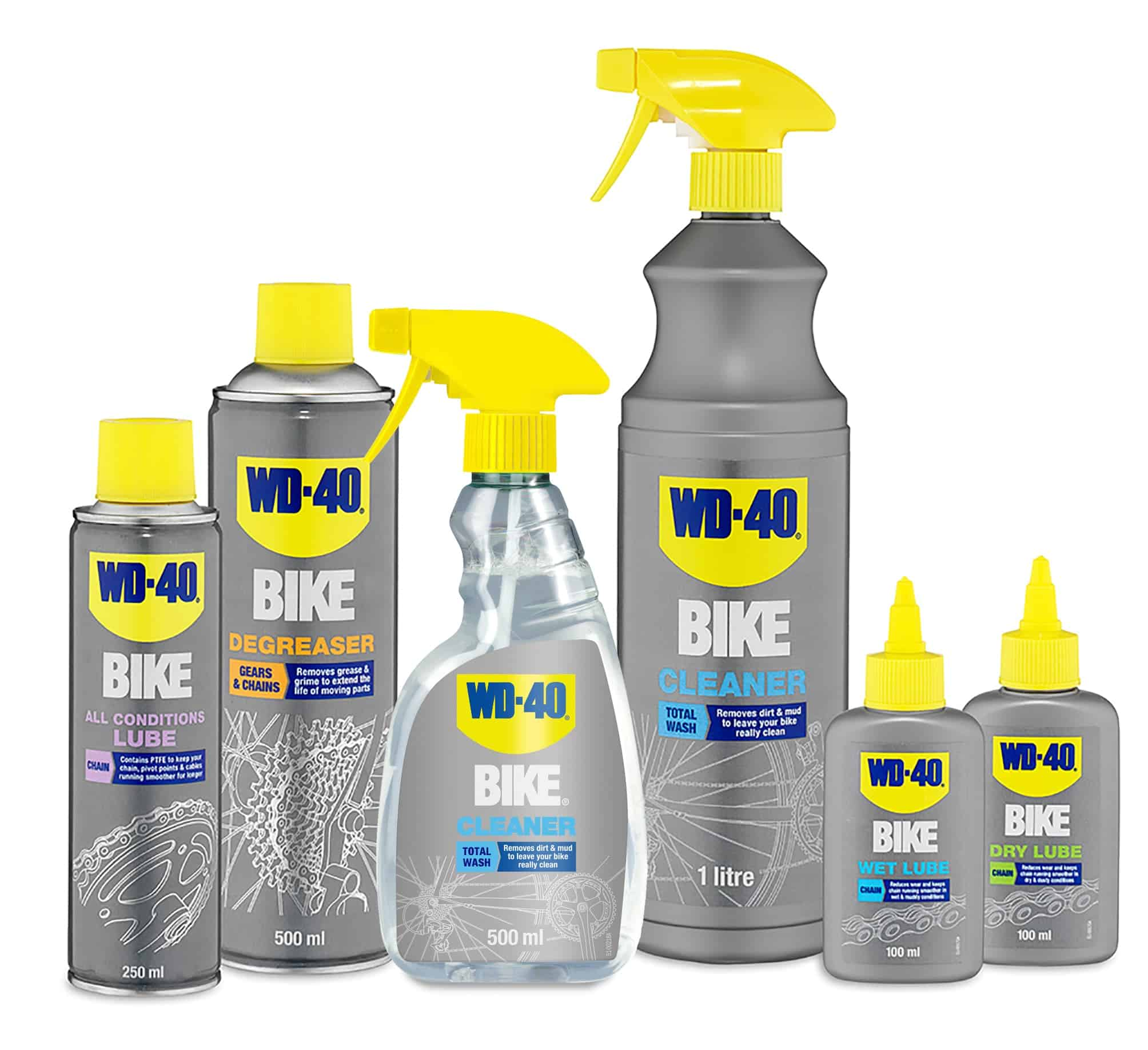 מוצרי WD40 לאופניים והשימושים שלהם