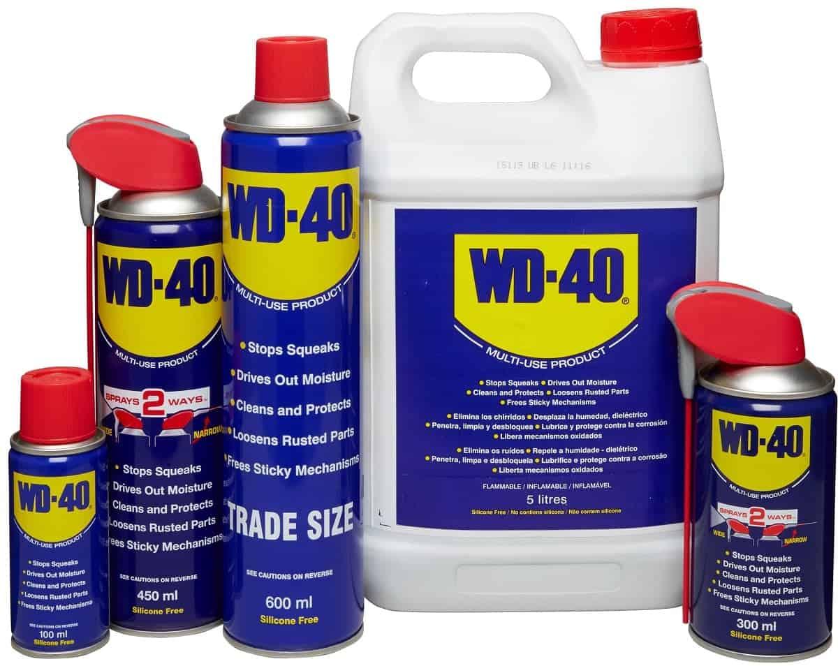 אין ספור שימושים בתרסיס סיכוך WD40